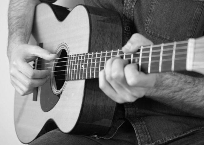 Martin guitar grey